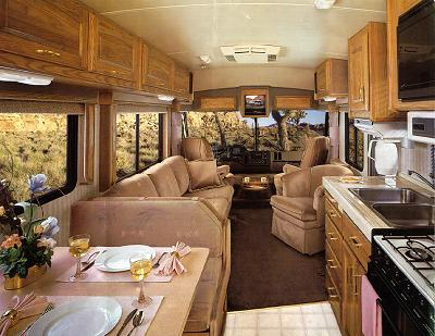 Sep Bathroom Tub With Shower Interior Beige Walnut Trim CB VCR Small Dish Satellite One Owner Non Smokers Exterior And Like